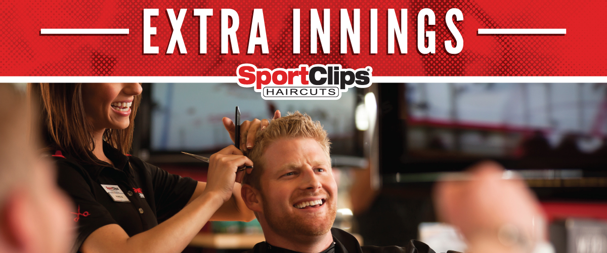 The Sport Clips Haircuts of Livingston Extra Innings Offerings